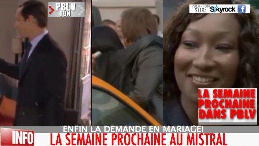 LA SEMAINE PROCHAINE DANS PBLV #2: SAMIA&BOHER:MARIAGE /XAVIER,JOHANNA:VOYAGE/ PÈRE BOHER+ DOUALA: DRAGUE ....