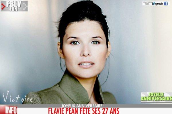 ANNIVERSAIRE DE FLAVIE PEAN (VICTOIRE)