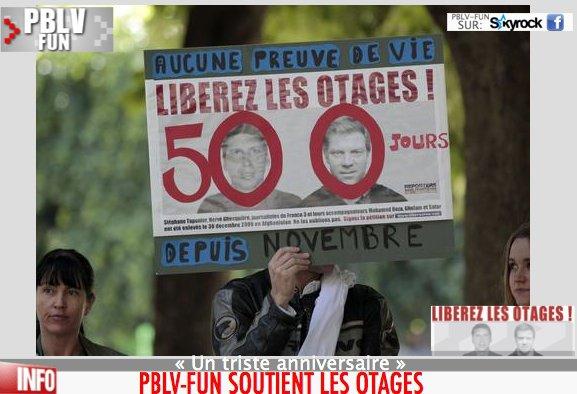 Otages français : Sarkozy reçoit les familles de Ghesquière et Taponier