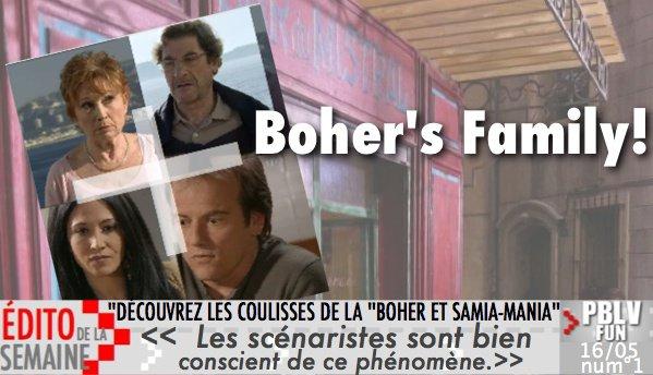 """EDITO DE LA SEMAINE:""""DÉCOUVREZ LES COULISSES DE LA """"BOHER ET SAMIA-MANIA"""""""