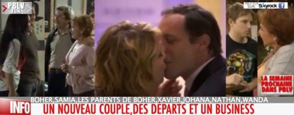 SUITES INTRIGUES: NATHAN, LES PARENTS DE BOHER ET LE COUPLE JOHANNA/XAVIER À L'AFFICHE CETTE SEMAINE