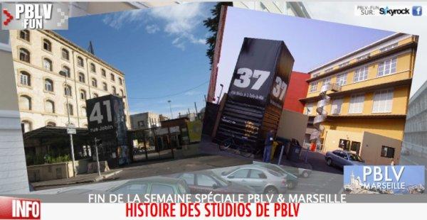 PBLV À MARSEILLE: HISTOIRE DES STUDIOS DE PBLV (3/3)