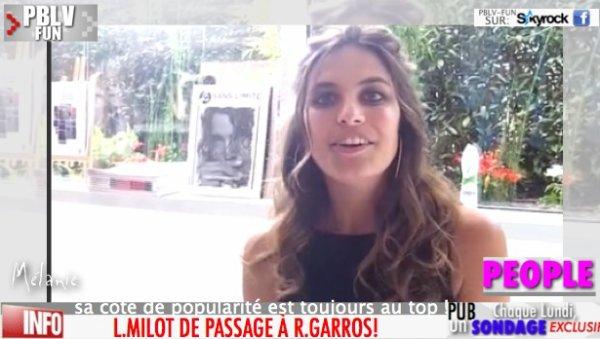 L.MILOT (MÉLANIE) LA STAR DE ROLAND GARROS