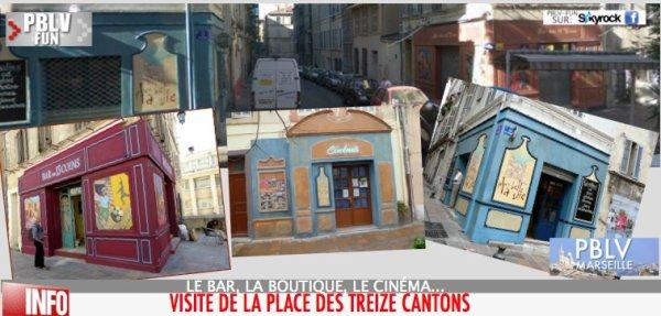 PBLV & MARSEILLE (2/3): LE LIEUX IMMANQUABLE POUR LES TOURISTES FANS.
