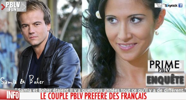 ENQUETE: POUR TOUT SAVOIR SUR LE COUPLE SAMIA/BOHER C'EST ICI !