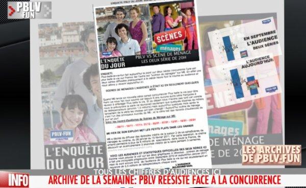 ARCHIVE PBLV: FRANCE 3 VS M6