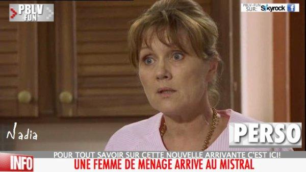 """ALORS QUE DEPUIS L'AFFAIRE DSK, LA FONCTION """"FEMME DE MÉNAGE"""" EST À LA UNE DE L'INFO, UNE FEMME DE MÉNAGE ARRIVE DANS PBLV!"""