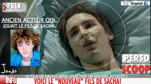 JONAS: LE FILS DE SACHA EST DE RETOUR MAIS C'EST UN NOUVEAU ACTEUR QUI VA INCARNER LE PERSONNAGE !