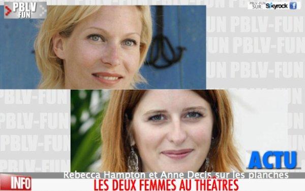 Plus Belle La Vie : Rebecca Hampton et Anne Decis sur les planches