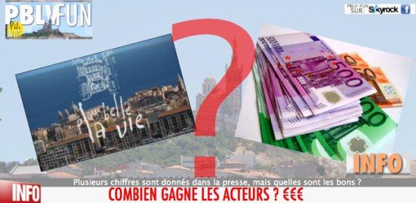COMBIEN GAGNENT LES ACTEURS DE LA SÉRIE ? ENQUETE ....