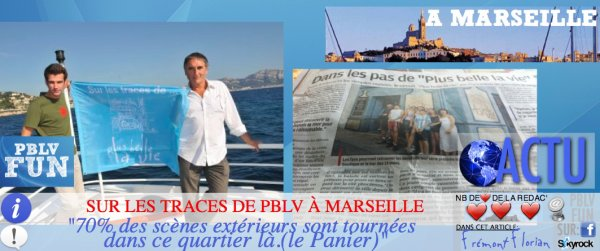 "MARSEILLE: ""THE PLACE TO BE"" POUR LES FANS DE LA SÉRIE !"