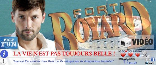 Laurent Kerusore de Plus Belle La Vie attaqué par de dangereuses bestioles