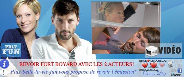 REVOIR CÉLINE ET THOMAS DANS FORT BOYARD ICI