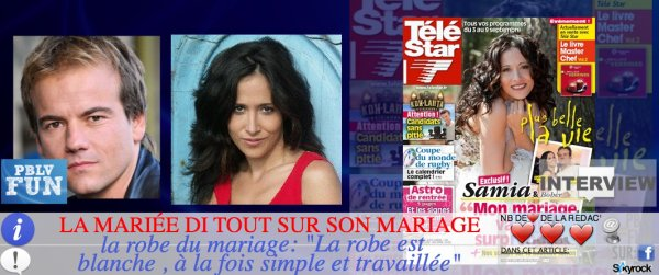 INTERVIEW: F.CARAT (SAMIA): ELLE DIT TOUT SUR SON MARIAGE