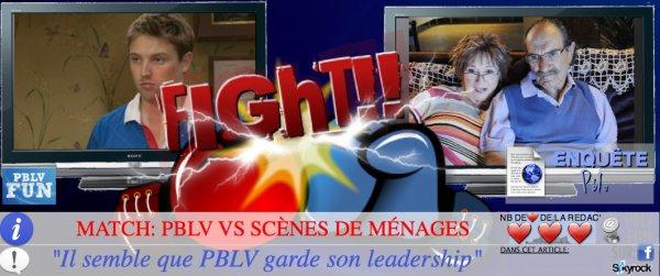 """ENQUÊTE: PBLV VS """"SCÈNES DE MÉNAGES"""" SUR M6 ..."""