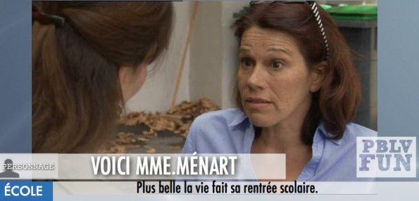 LA DIRECTRICE DE L'ÉCOLE DE BLANCHE DÉBARQUE AU MISTRAL