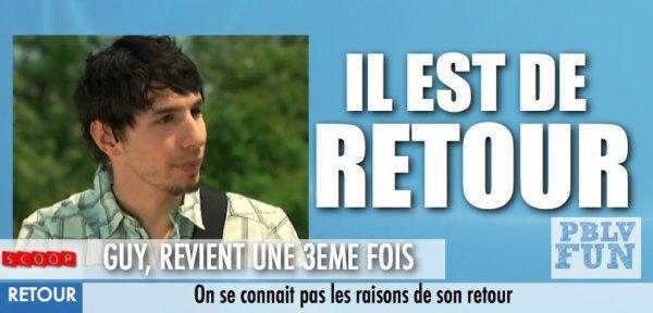 GUY, LE GEEK DE RETOUR