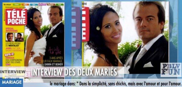 INTERVIEW: SAMIA ET BOHER DISENT TOUT SUR LE MARIAGE !