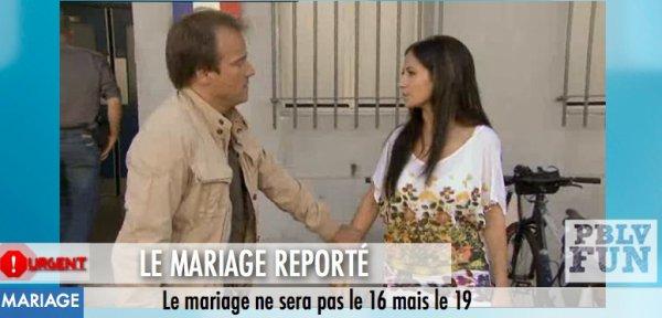 URGENT; LE MARIAGE SAMIA/BOHER REPORTÉ !