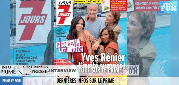 PRIME PBLV: INTERVIEW DE DOUALA ET YVES RENIER