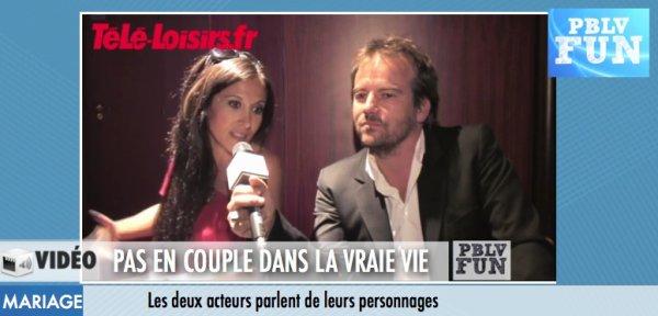 """Fabienne Carat et Stéphane Hénon: """"Plus Belle la vie, ça représente la vie"""""""