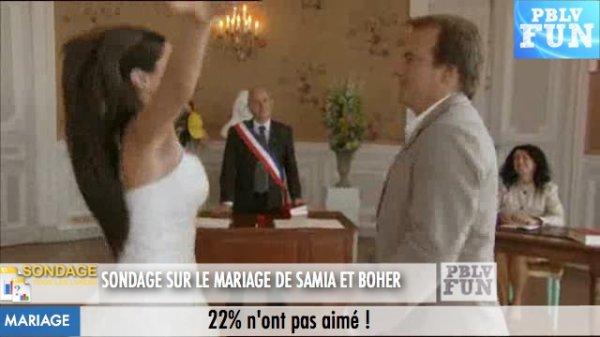 SONDAGE: Les fans ont-ils aimé le mariage de Samia et Boher?