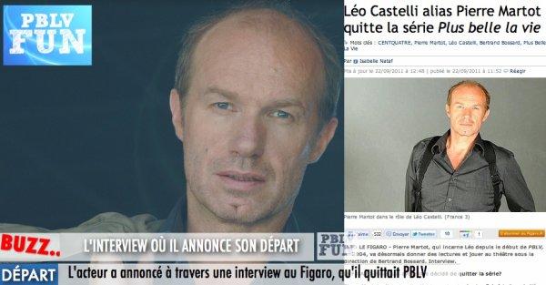 DÉPART DE LÉO DÉFINITIVEMENT: L'INTERVIEW OÙ IL DIT LES RAISONS DE SON DÉPART