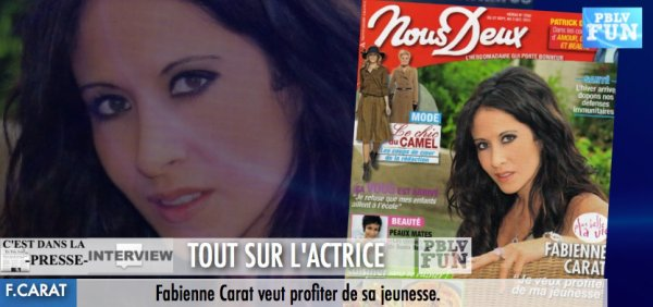 INTERVIEW: FABIENNE CARAT
