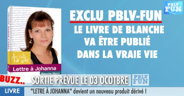 "EXCLU: ""Lettre a Johanna"" va sortir dans la vraie vie le 03 Octobre"
