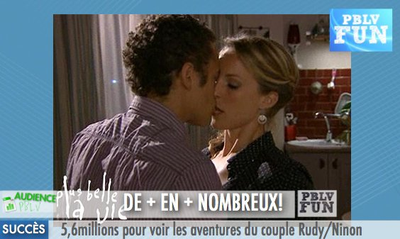 Plus belle la vie : Ninon et Rudy rassemblent les Français