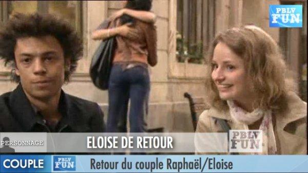 ELOISE DE RETOUR