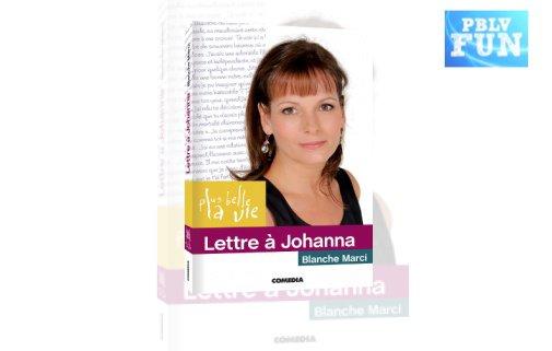 """""""LETTRE À JOHANNA"""" en librairie, interview"""