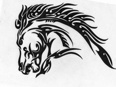 dessin un cheval un peu plus dur raliser mais il donne toujours un sacr effet sur la tte