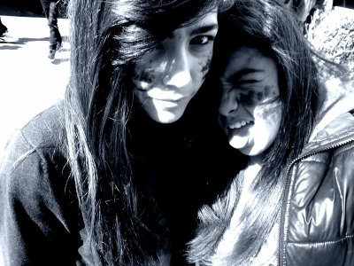 Lauriane mon ex meilleure amie que j'aime très bcp.(l)