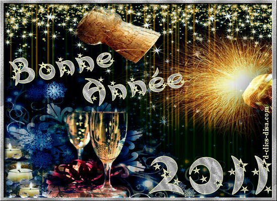 bonne année 2011 a mes amie blog !!!!!!!!! bisous !!!!!!!!!!!!!!!!!!