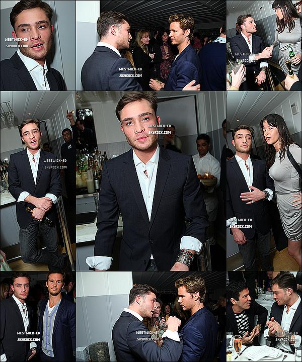 22/02/11 : Le Westwick était à une fête organisée pour David O. Russel dans West Hollywood ...  Sexy, or not ?