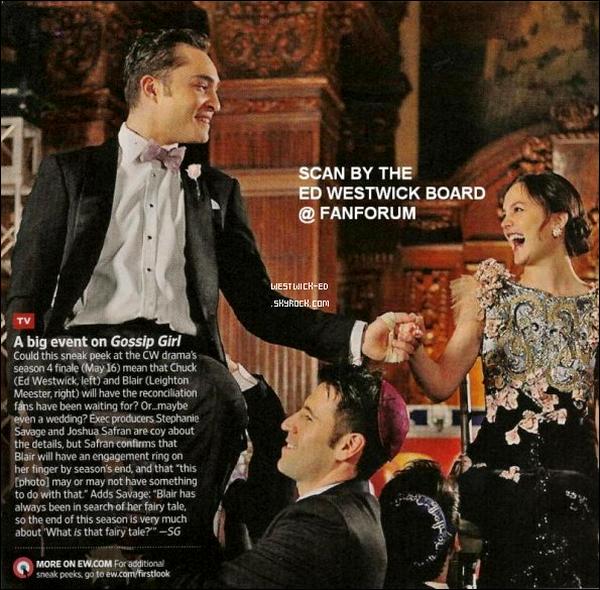 Une image du final figure dans le dernier numéro d'Entertainment Weekly.