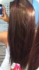 Schokobraun haare helles Schokobraune Haare