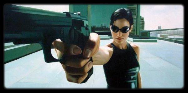 - Trinity - (Film : Matrix)