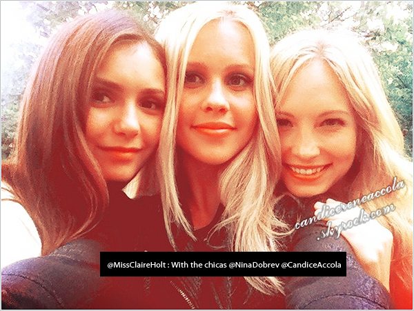 → Twitter Time !!!_______________with @CandiceAccola