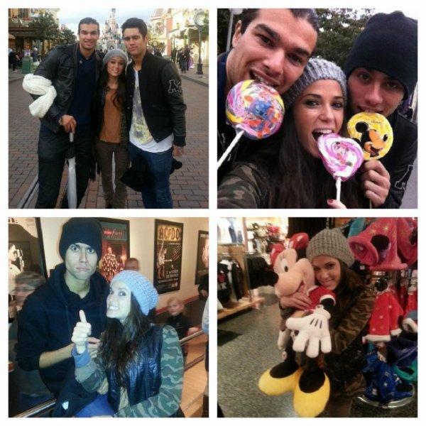 Capucine, Simon & Midou à Disneyland