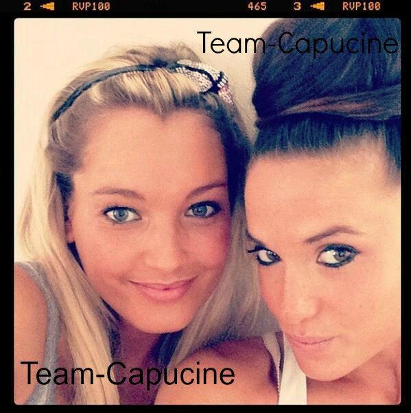 Nouvelle photo de Capucine et d'Aurélie