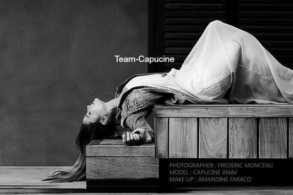 Team-Capucine • Découvrez un shooting de Capucine fait par Frederic Monceau (photographe)