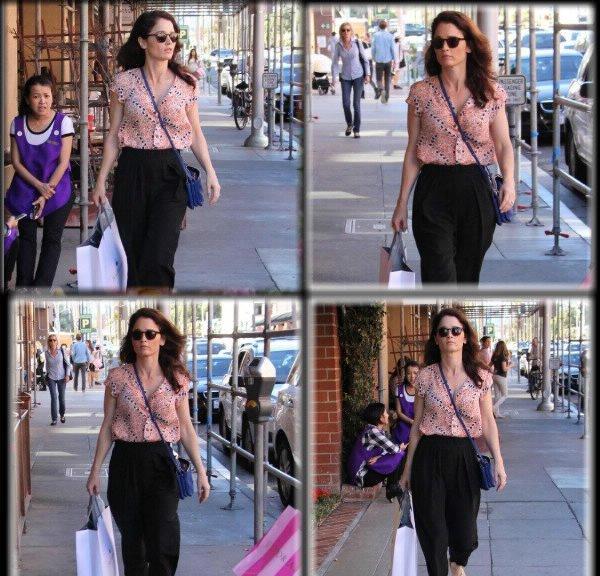 11.02.2015 Robin faisant du shopping à Beverly Hills