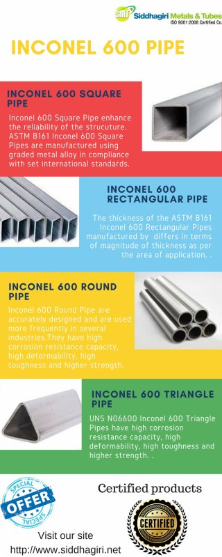 Inconel Alloy 600 tubing Price in India| Incoloy 800 Tube price list| Inconel 625 pipe price