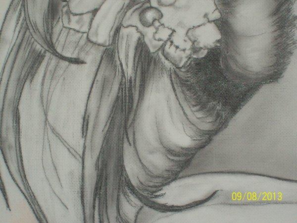 détails chevelure