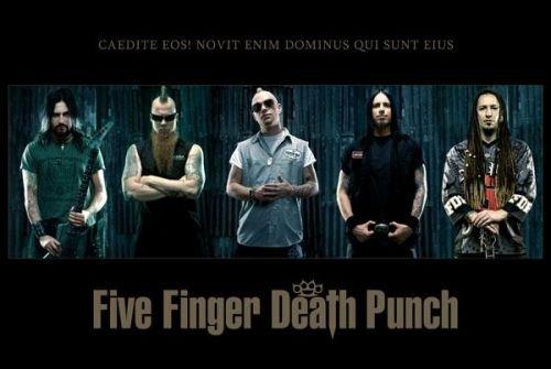 RETOUR SUR : Five Finger Death Punch
