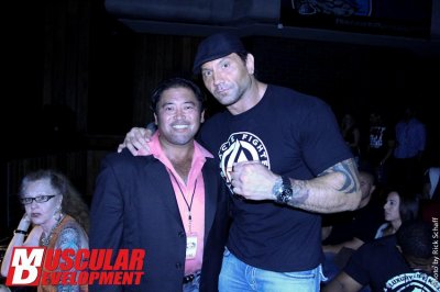 Batista au Tampa Pro Bodybuilding show