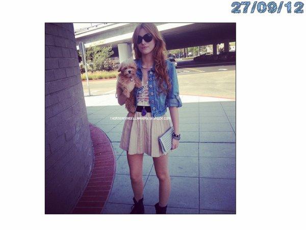 Twitter Time du : 26/09/12 ; 27/09/12 et du 28/09/12. (+) Bella et son petit ami, aux dix ans de Teen Vogue, pourcélébrerl'évènement.