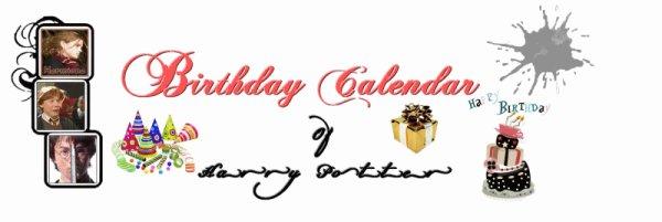 • Birthday Calendar